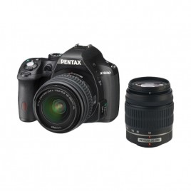 Pentax K-500 Double Lens Bundle